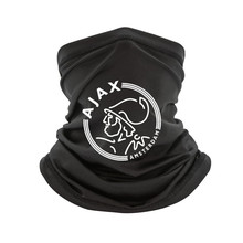 Neck-Warmer Scarf-Bandana Ajax Amsterdam Football White Headband Women Red T-Tee Afc