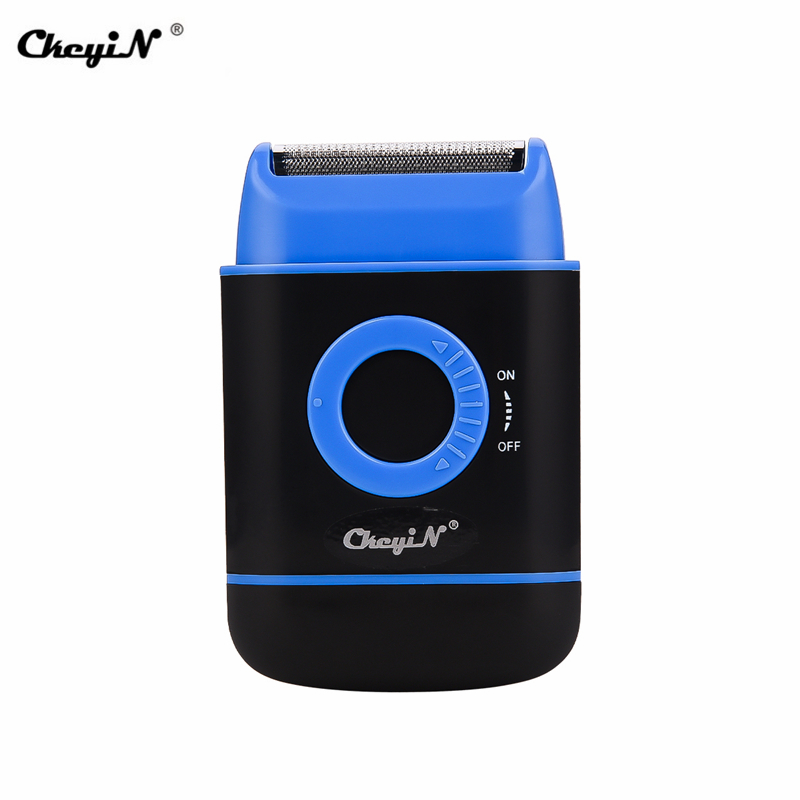 Electric Reciprocating One Blade Beard Trim Shaver Men Mini Body Razor Temple Shaving Machine Trimmer Knife Sharp Head Barbeador