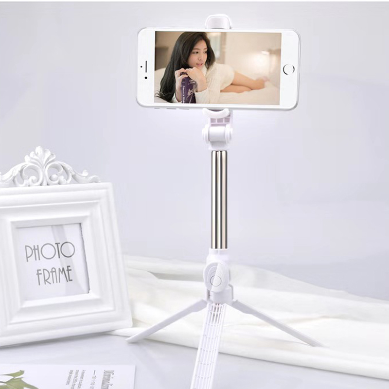 Mobile Phone Holder Tripod With Remote Self-Timer Artifact Rod For Phones G0pro For Huawei P30 P 30 P20   P 20 P10 P 10pro Lite