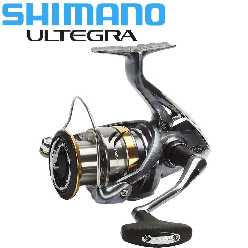 원래 시마노 ULTEGRA 스피닝 릴 1000/2500/C3000/4000 최대 11KG 전원 5.0: 1/4. 8:1 하긴 기어 해수/담수 낚시