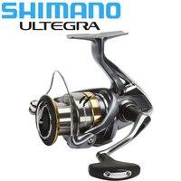 원래 시마노 ULTEGRA 스피닝 릴 1000/2500/C3000/4000 최대 11KG 전원 5.0:1/4.8:1 하긴 기어 해수/담수 낚시