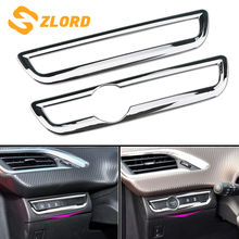 Zlord A Key To Start Key Ring Cover Stickers Trank Knob Trim Fit for Peugeot 2008 2014 - 2019 LHD Accessories Sticker