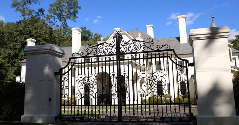 Hench Hot Sale 2020 Wrought Iron Gates Factory Price