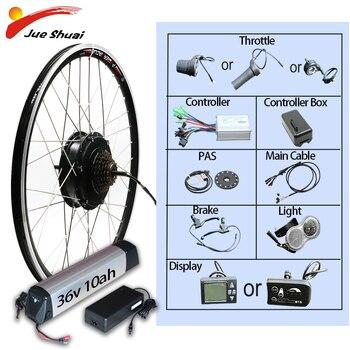 Kit de conversión de bicicleta eléctrica rueda eléctrica de 29 pulgadas, 36V,...