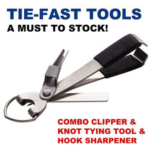 Knot Tool Fishing Nipper Fly Line Cutter Clamp Line Tie Nail Tying Retractor Kit