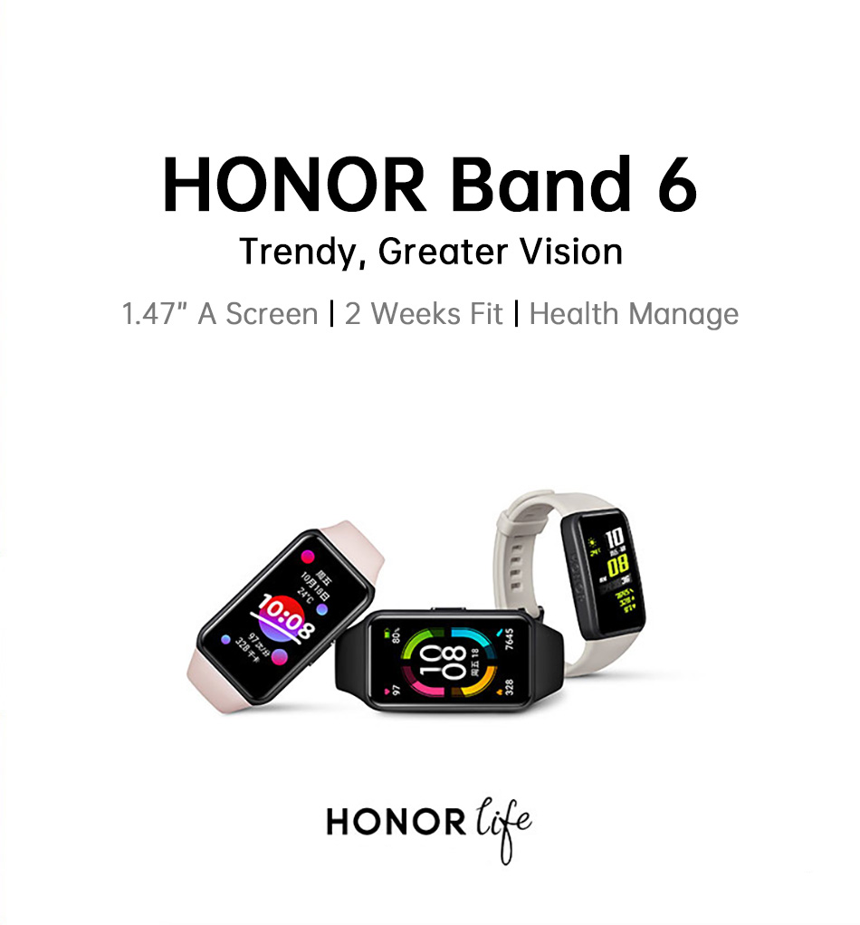 Honor Band 6 Smartwatch 3