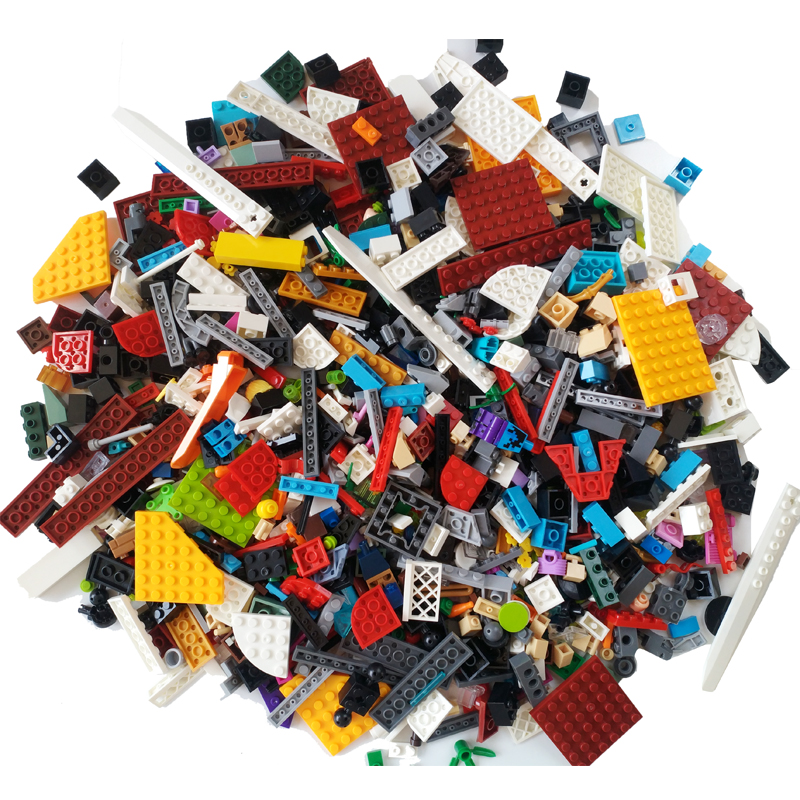 NEW 1000 Pieces Building Blocks City DIY Creative Bricks Bulk Model Figures Educational Kids Toys Compatible All Brands
