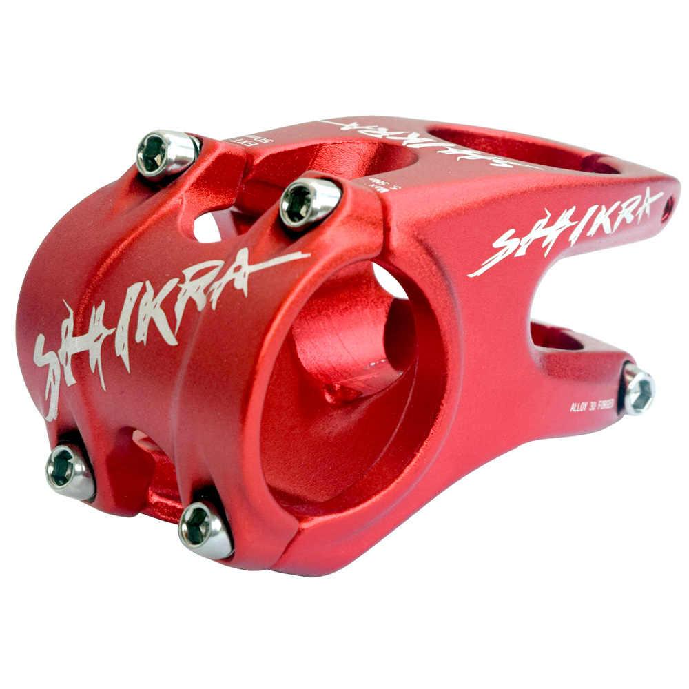 Eje de bicicleta CNC de 12 grados, 35mm, 31,8mm, eje de bicicleta de 50mm para XC AM DH MTB, piezas de bicicleta de montaña y carretera