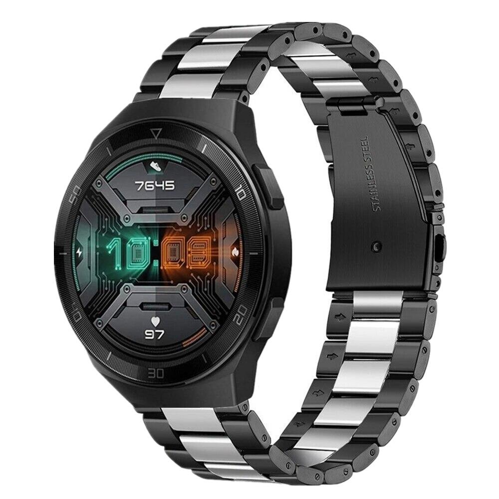 Ремешок для часов Huawei GT 2e 46 мм браслет 20 мм 22 мм ремешки из нержавеющей стали для часов Huawei GT2/Samsung Active2 40 мм 44 мм ремешок