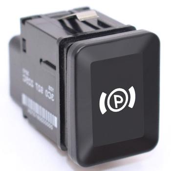 Uniwersalny samochód elektroniczny hamulec postojowy przycisk przełącznika przełącznik hamulca ręcznego EPB Parking włącznik do vw Passat R36 B6 C6 CC tanie i dobre opinie EAFC Przełączniki Switch Handbrake Car Electronic Parking Brake Button EPB Electronic Handbrake 2 6cm 4 4cm Car Parking Switch