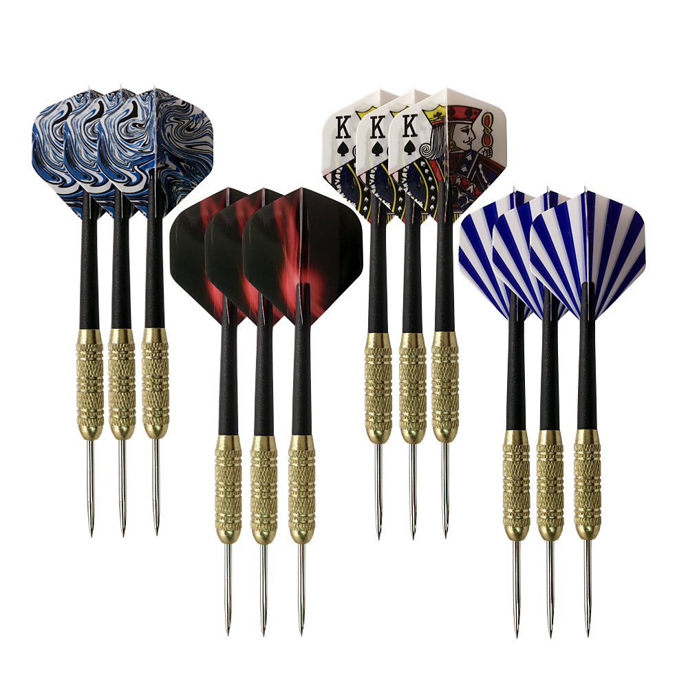 Cavalier 3Pcs Professional Steel Tips Darts Indoor Darts Shafts Resistance To Fall And Durability