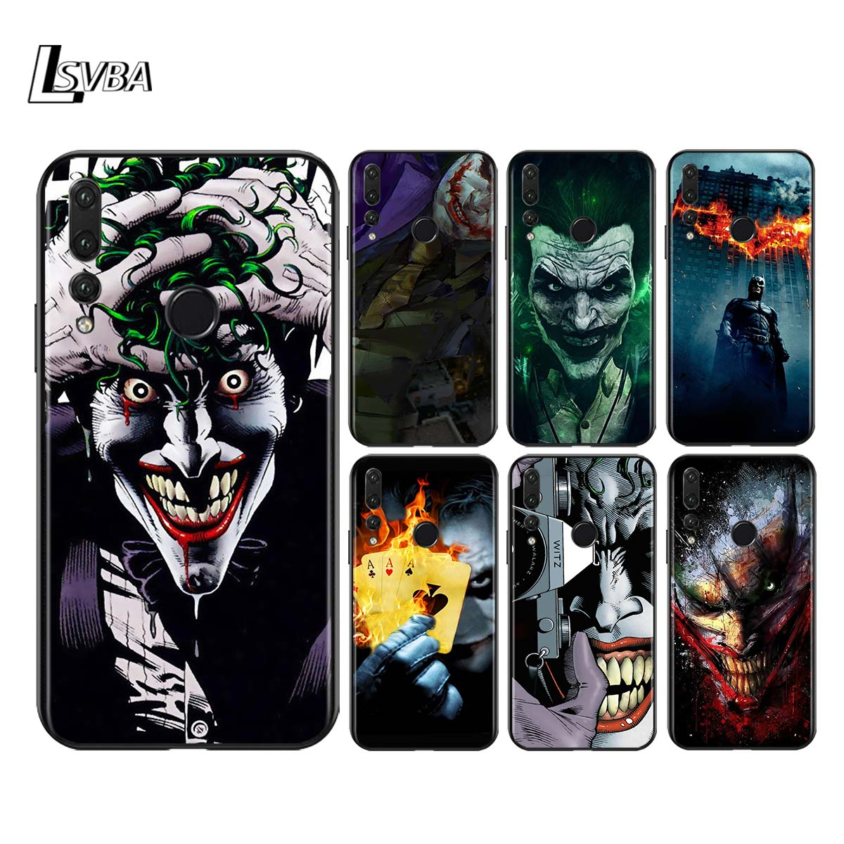 Silicone Soft Cover <font><b>Marvel</b></font> Batman Joker for Huawei Honor 30 20 Pro 10i 9A 9S 9X 8X 10 9 Lite 8 8A 7A 7C Pro <font><b>Phone</b></font> <font><b>Case</b></font> image