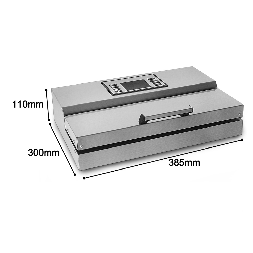 Купить с кэшбэком ITOP Food Vacuum Sealer Packaging Machine Semi-commercial Vacuum Sealer Stainless Steel Body Food Processor CE Certification