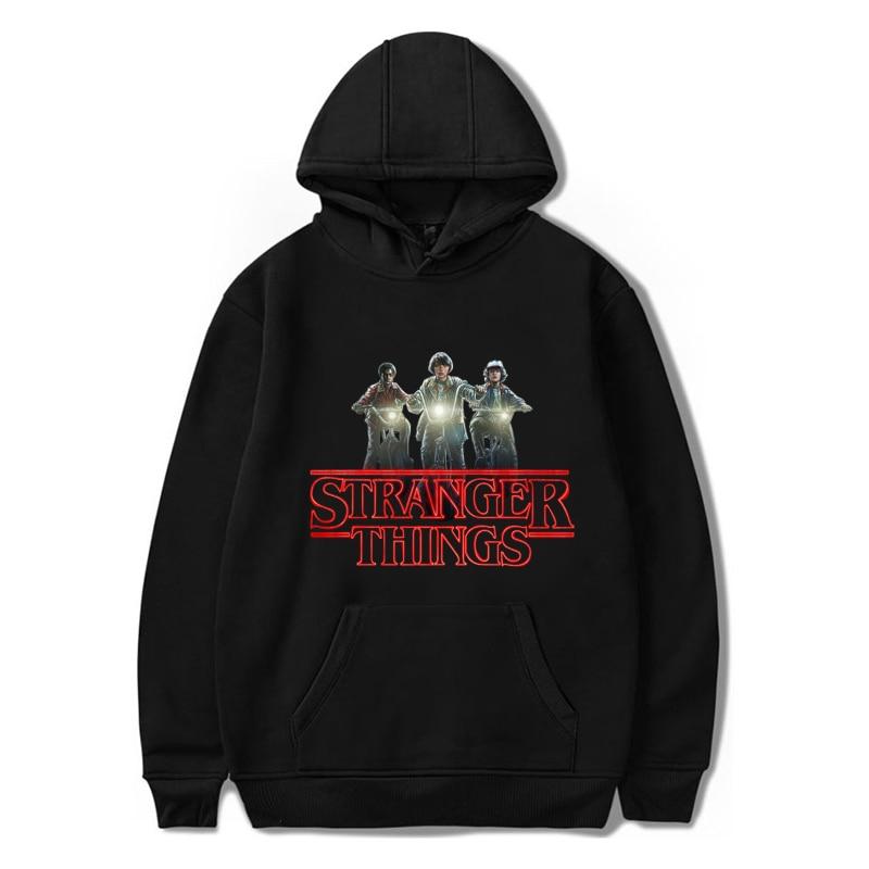 Stranger Things Hoodies Autumn Harajuku Hooded Pullovers Men/Women Fashion Sportswear Boys Girls Hip Hop Streetwear Sweatshirts