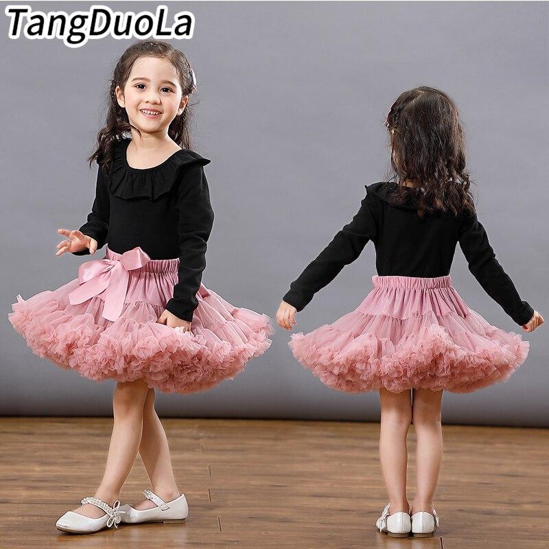 2-8 Ys mode bébé filles Tutu jupes princesse pettijupes ballet danse tutu jupe enfants fête costume enfants