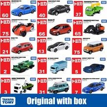 Takara Tomy arabalar Tomica marka arabalar Mini simülasyon Diecast alaşım araç otobüs taksi kamyon otomobil Boys çocuk oyuncakları noel hediyesi