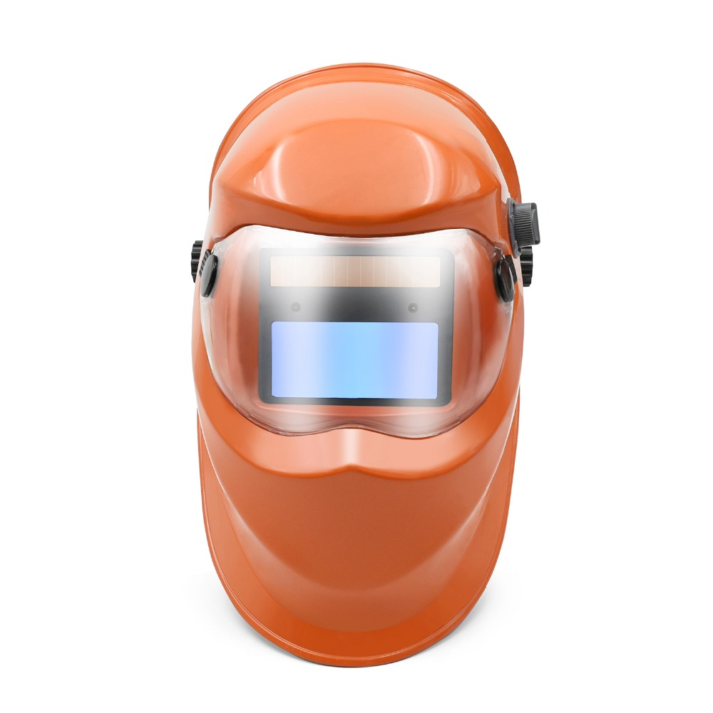 Mascara de soldadura HITBOX con oscurecimiento automático ajustable