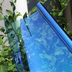 Sunice Car Window Chameleon Film Solar Tint 55%VLT nano ceramic glass sticker privacy decorative car foils 90cmx50cm