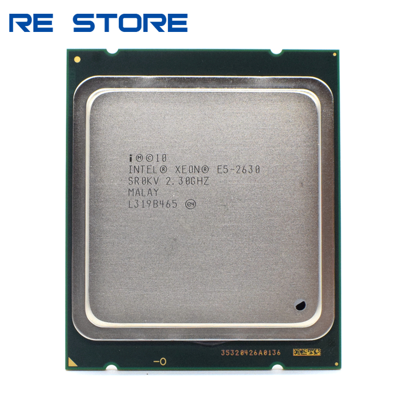 Intel Xeon E5-2630 E5 2630 2.3 GHz Six-Core Twelve-Thread CPU Processor 15M 95W LGA 2011