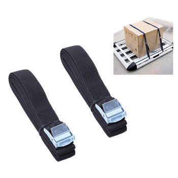2Pcs Lashing Straps With Buckle Nylon Straps Tie Down Car Roof Rack Luggage Straps Kayak Canoe Hammock Carrier Belt image