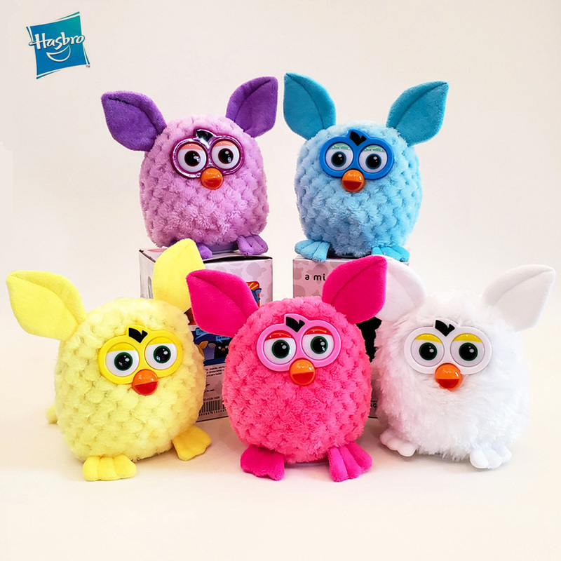 Hasbro Electric Talking Furby Plush Electronic Pet Toy Owl Interactive Toys Recording Smart Doll Kids Gifts 15CM