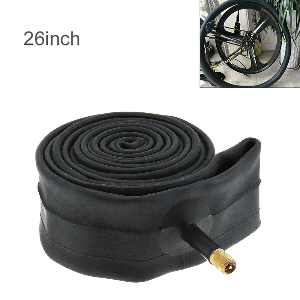 26x1.95//2.125 Bicycle Butyl Rubber Inner Tube Cycling Wheel Valve Tire Accessory