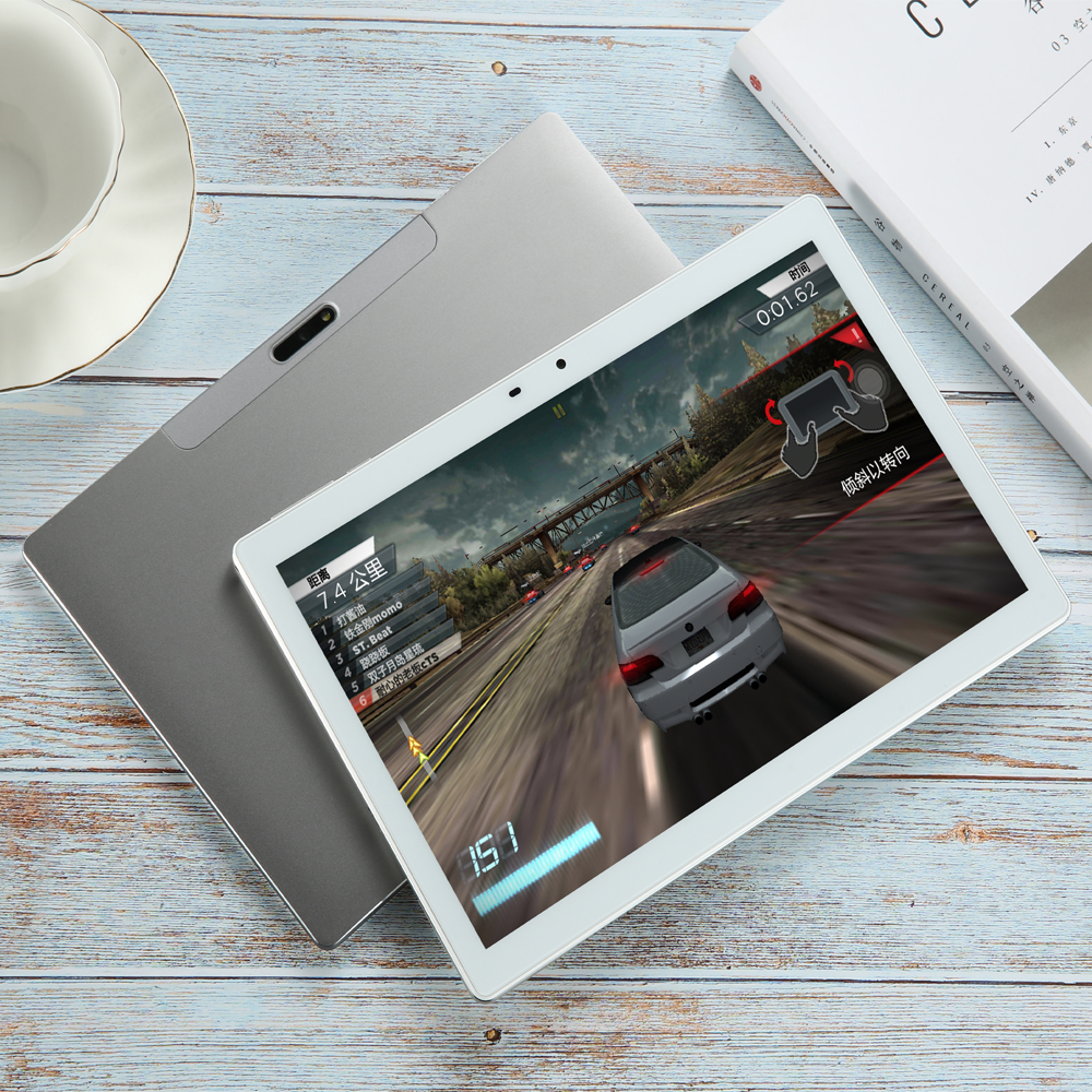 4GB + 128GB Tablet 10.1 Inch 1920*1200 2.5K Display MT6797X X20 10 Core Android 8.0 Tablets PC 4G Phone Call Type-C