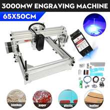 USB 3000MW 50*65cm Mini Engraving machine DIY Engraver Machine Desktop Wood Router/Cutter/Printer+ Adjustable Laser AC110-220V
