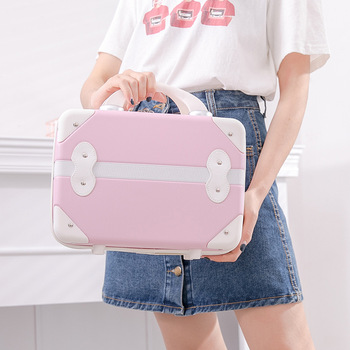 Women's Travel Luggage Bag Anti-collision ABS Business Clothes Beauty Packing Portable Weekend Fashion Electronic Storage Cubes