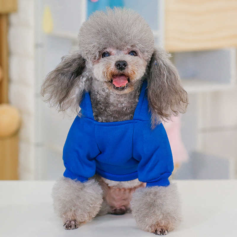 Cotton Dog Hoodie Winter Pet Dog Clothes For Dog Coat Jacket Fashion Ropa Perro French Bulldog Clothing For Small Dogs Chihuahua