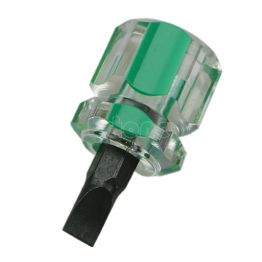 1PC Precision Mini Slot Type Anti Slip Bits Screwdriver Magnetic Repair Tool New in Screwdriver from Tools