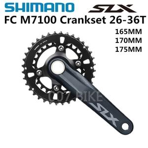 Image 2 - シマノdeore slx M7100グループセット26 36t 170 175ミリメートルクランクセットマウンテンバイクグループセット2x12 Speed 10 51t 10 45t M7100ブレーキ