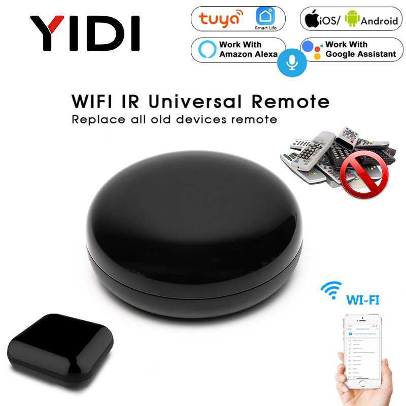 Wifi Smart IR Controller Hub Universal Infrared Wireless Remote One For All TV Voice Timming Control Tuya Google Home Alexa