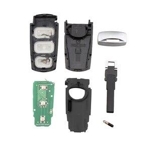 Image 2 - 434MHz 3 أزرار بدون مفتاح تقطيعه الوجه سيارة ذكية مفتاح بعيد فوب مع ID48 رقاقة 3C0959752BA لشركة فولكس فاجن باسات B6 3C B7 Magotan CC