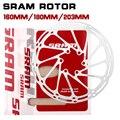 2pcs Sram Bike Brake Rotor Centerline 160mm 180mm 203mm Stainless Steel MTB Road Hydraulic Brake Disc Rotors Centerline
