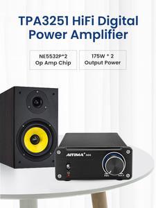 AIYIMA Audio-Amplifier Channel-Amp NE5532 Hifi Digital Super-Tda7498e/tpa3116 175w--2