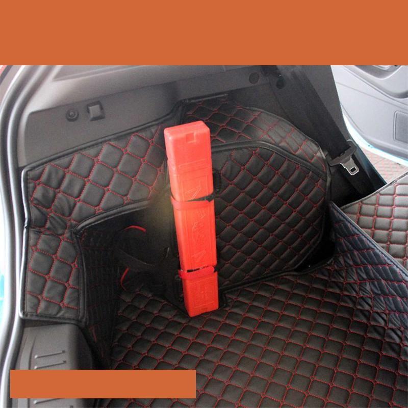 lsrtw2017 for ford fiesta leather car trunk mat cargo liner 2010 2011 2012 2009 2013 2014 2015 2016 2017 2018