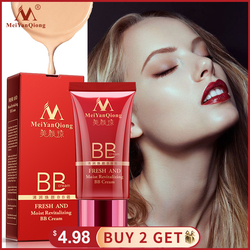 MeiYanQiong Fresh And Moist Revitalizing BB Cream Makeup Face Care Whitening Compact Foundation Concealer Prevent Bask Skin Care