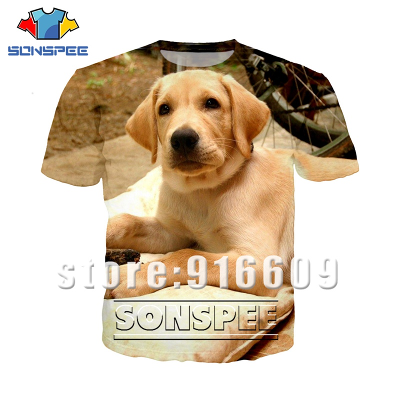 Rock Tshirt 3D Print Funny Cute Animal Labrador Tshirt Men Women Anime Logo Streetwear T Shirt Harajuku Shirts Dog Short Sleeve