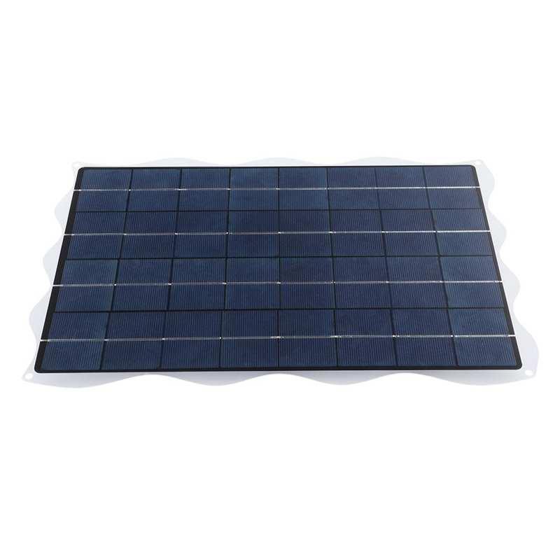 20w 18v painel de energia solar carregador de bateria com suporte para viagens ao ar livre