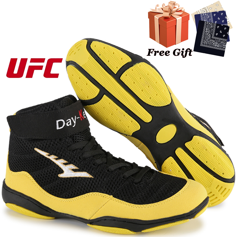 Professional men's boxing shoes daily fitness training sports shoes combat sports training shoes weightlifting shoes