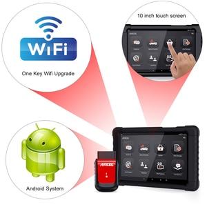 Image 5 - Ancel X6 OBD2 сканер Bluetooth сканер ABS подушка безопасности Oil EPB DPF Сброс OBD 2 Автомобильный сканер считыватель кодов автомобильный диагностический инструмент