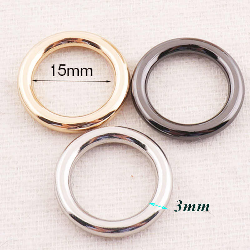 2pcs Golden Purse Handles Arched Bag Handles with rings Metal Handbag Handle Screw Purse Notion Hardware Handbag Accessories