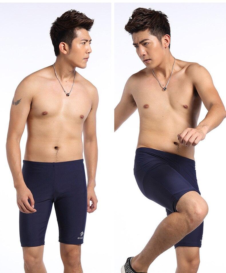 2019 New Style Fashion MEN'S Swimming Trunks Boxer Short-Style Fashion Man Hot Springs Swimming Trunks