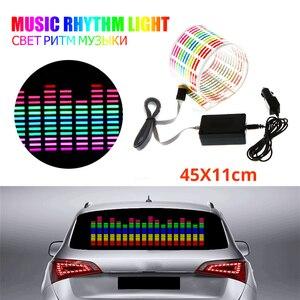 45x11CM Car Sticker Music Rhyt