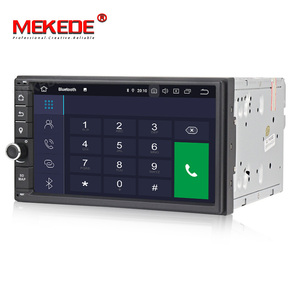 Image 2 - MEKEDE PX5 4+64G 2 Din 7 Android 9.0 Universal Car Radio Double din Stereo GPS Navigation In Dash Pc Video WIFI USB 2din BT