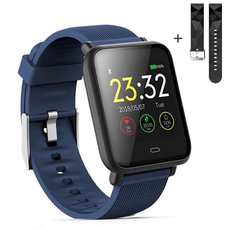 Smart Watch Q9 Blood Pressure Heart Rate Sleep Monitor Bracelet IP67 Waterproof Sport Fitness Trakcer Watch Men Women Smartwatch
