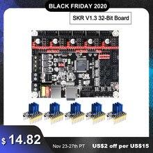 BIGTREETECH – Carte de commande pour imprimante 3D, élément électronique SKR, V 1.3, 32 bit, pièce de panneau de contrôle vs, MKS, GEN L, Sgen L, TMC 2130, TMC 2209, TMC 2208, a4988