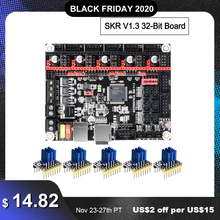 หน้าจอ: BIGTREETECH SKR V1.3 32บิตSmoothieboard 3Dเครื่องพิมพ์32bitควบคุมบอร์ดVs MKS GEN L Sgen L TMC2130 Tmc2209 tmc2208 A4988