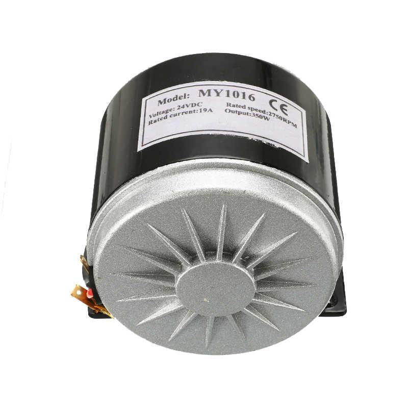 DC 24V 350W motor eléctrico de imán permanente generador para turbina eólica Bicicleta